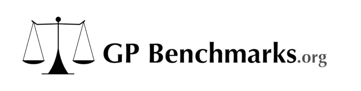 GP Benchmarks